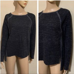 Lou & Grey high low sweatshirt